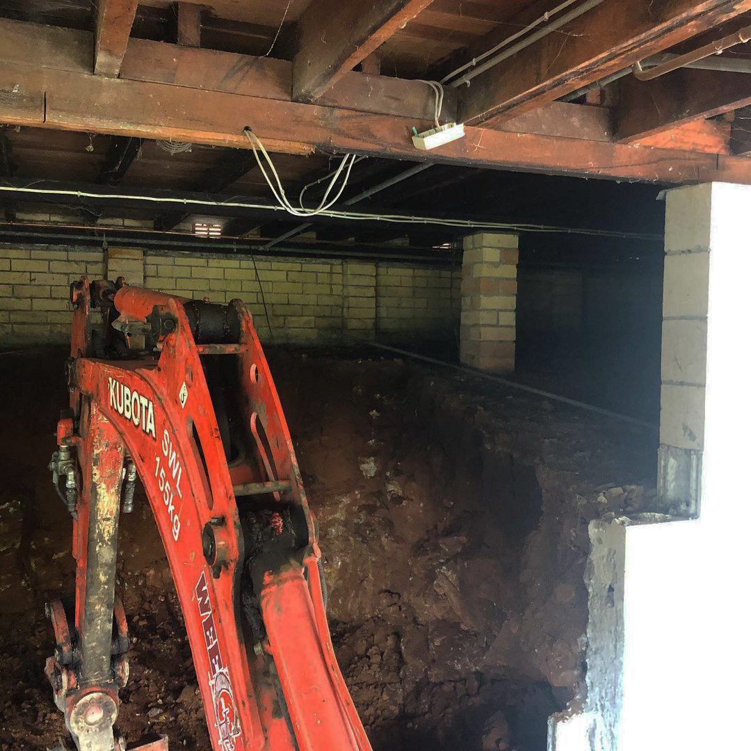 Excavation & Trenching small tight access excavation gold coast